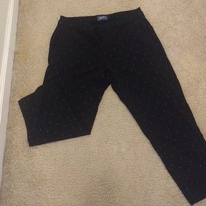 Old Navy nautical theme cropped pants